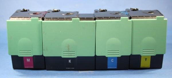 Lexmark C-540 Set (BK,CY,MG,YE) Reman