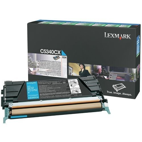 Original Lexmark Toner C5340CX cyan für C534n C534dn C534dtn