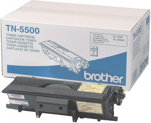 Original Brother TN-5500 Toner schwarz für HL 7050 7050N