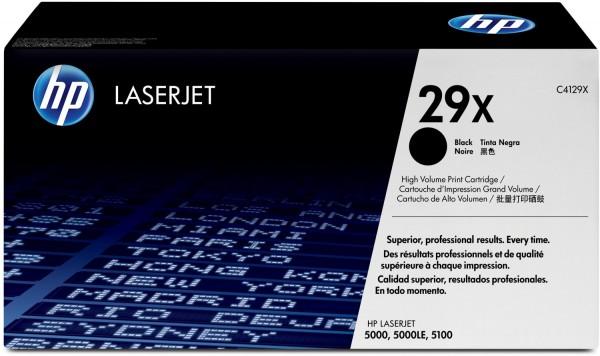 Original HP Toner 29X C4129X Laserjet 5000DN 5000GN 5000N Neutrale Schachtel