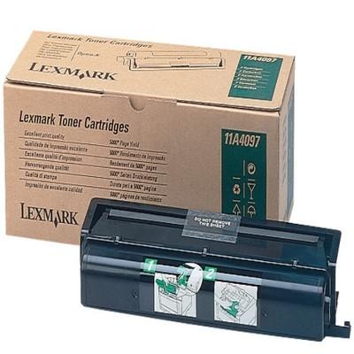 Original Lexmark Toner 11A4097 schwarz für 4046 Optra K 1220