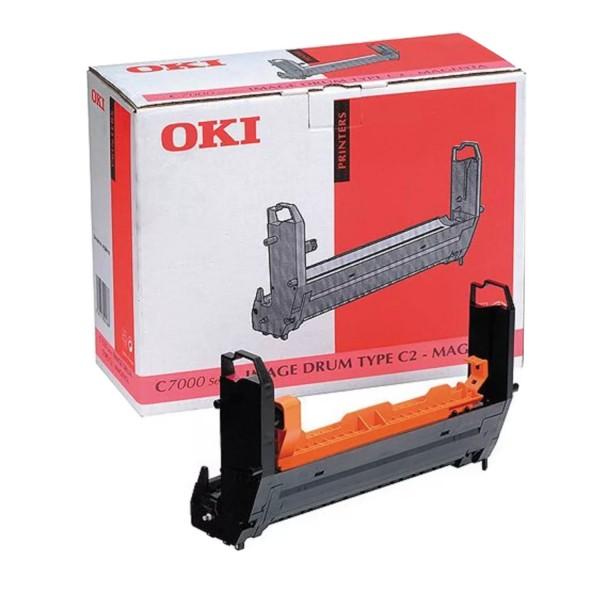Original OKI Trommel 41304110 magenta für C7200 C7400 B-Ware