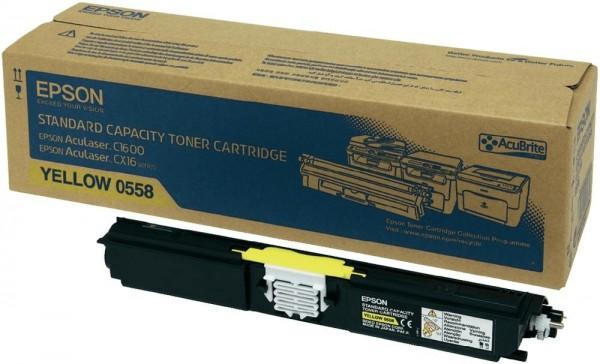 Original Epson Toner C13S050558 gelb für AcuLaser C1600 CX16 B-Ware