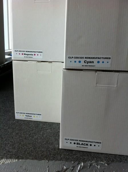 Samsung CLT 4072 BK/cy/mg/ye Set Reman