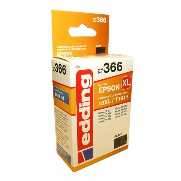 Original Edding Tinte Patrone 366 für Epson 18XL Home XP 30 102 202 302 402