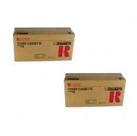2x Original Ricoh Toner 339474 schwarz für Fax 1700 1750