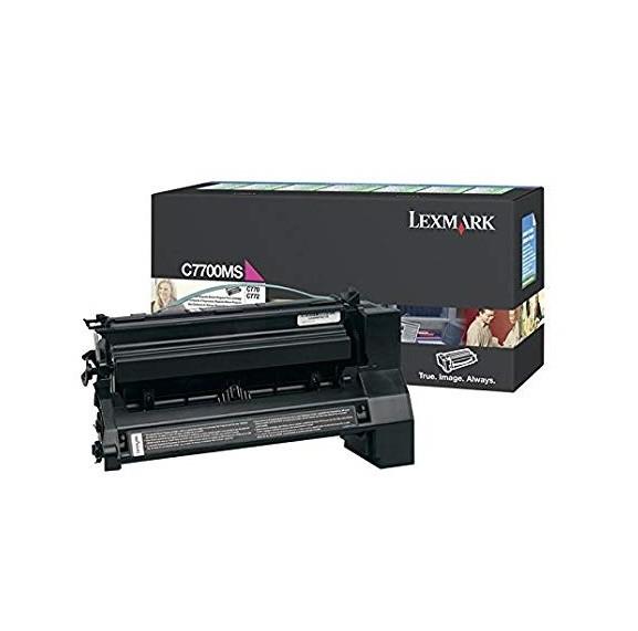 Original Lexmark Toner C7700MS magenta für C770 C772 B-Ware