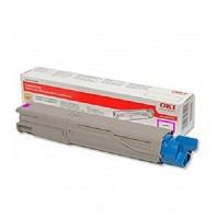 Original OKI Toner 43459330 magenta für C 3300 3400 3450 3600 B-Ware