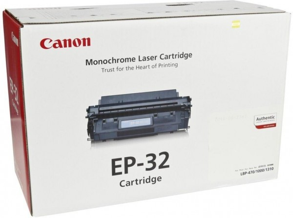 Original Canon Toner EP-32 für LBP 1000 HP LASERJET 2100 2200