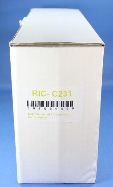 Ricoh 406482 (C231) YE reman