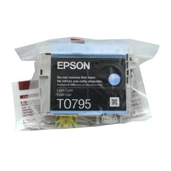 Epson T0795 Light CY (C13T07954010) OEM Blister