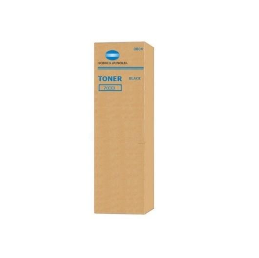 Original Konica Minolta Toner 000X schwarz für 7033 Neutrale Schachtel