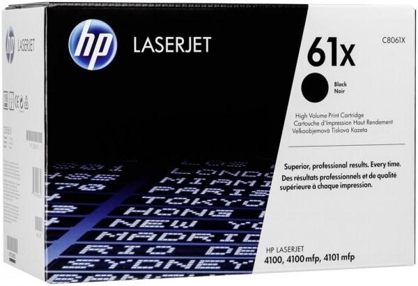 Original HP Toner 61X C8061X schwarz für LaserJet 4100 4100SE