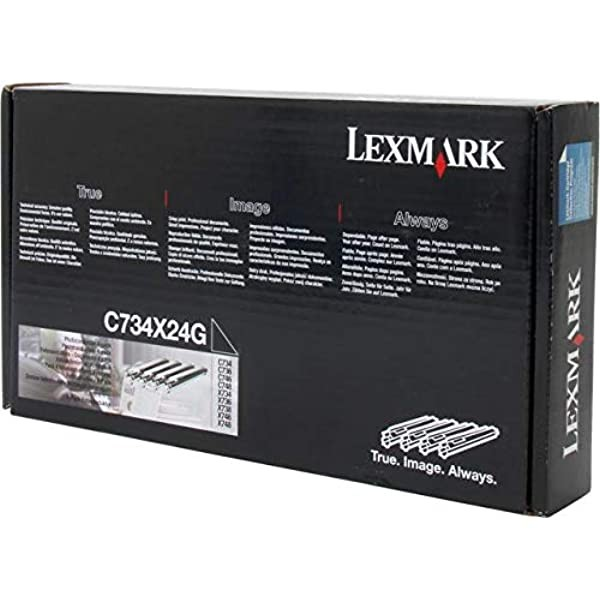 4 x Original Lexmark Bildtrommeln C734X24G C734 C736 X734 X736 B-Ware