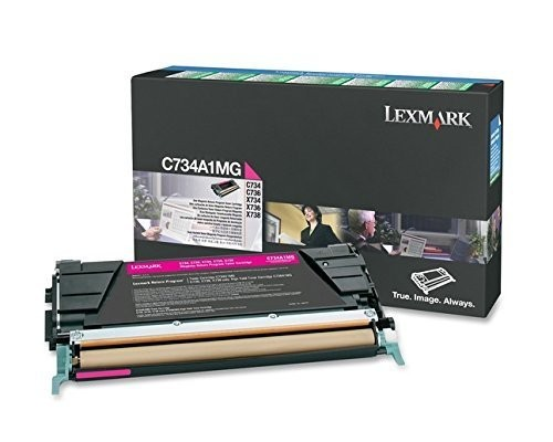 Original Lexmark Toner C734A1MG magenta C734 C736 X734 X736 X738