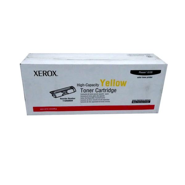Original Xerox Toner 113R00694 gelb für Phaser 6115 6120
