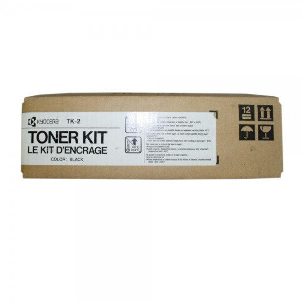 2x Original Kyocera Toner TK-2 schwarz für F-3000 F-3010