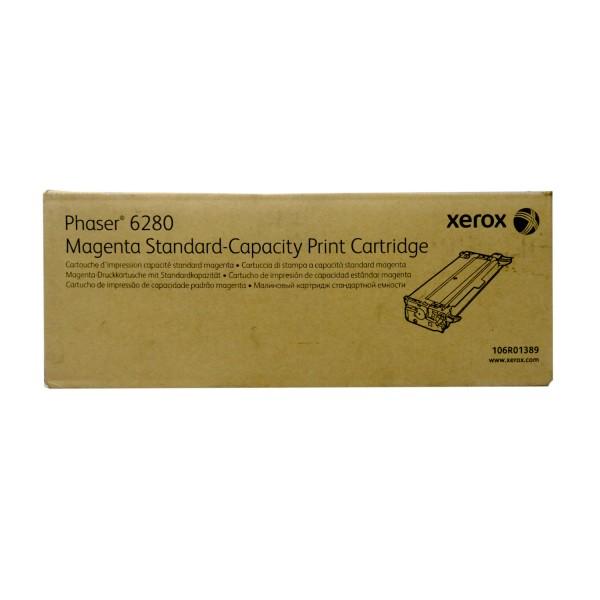 Original Xerox Toner 106R01389 magenta für Phaser 6280 Neutrale Schachtel