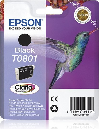 Epson T0801 BK (C13T08014010) OEM