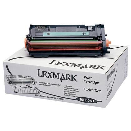 Original Lexmark Toner 10E0043 schwarz für Optra C710 C710dn C710n B-Ware