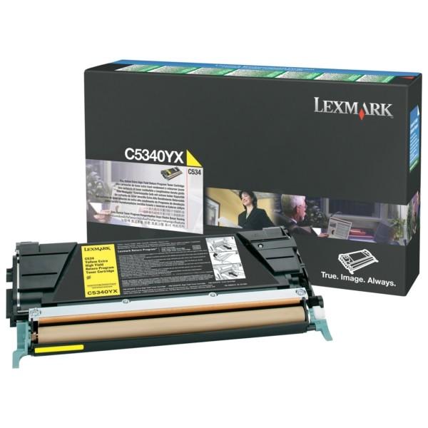 Original Lexmark Toner C5340YX gelb für C534n C534dn C534dtn