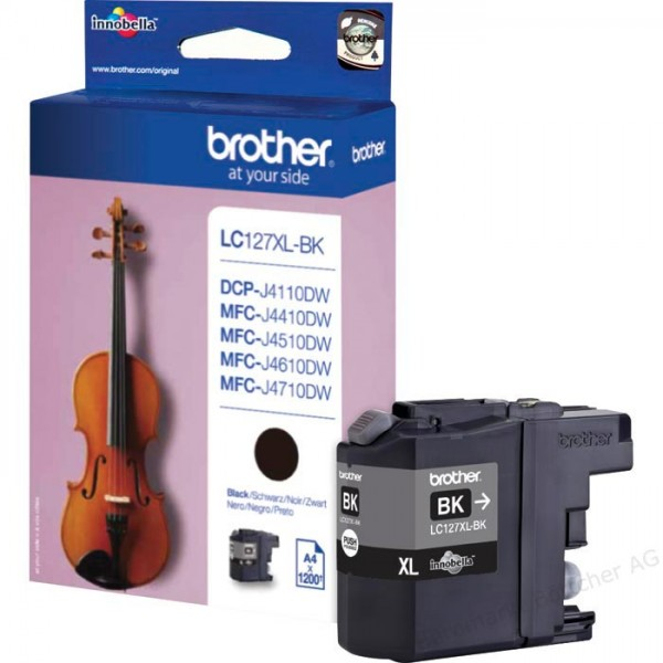 Brother LC 127XL BK OEM