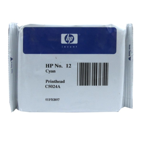 HP 12 (C5024A) Printhead CY OEM Blister