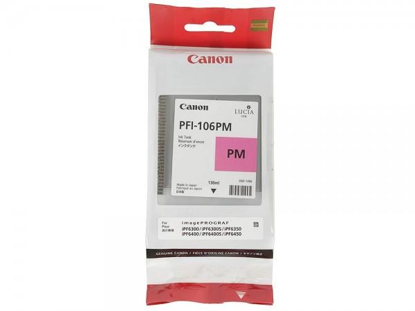 42362_Original_Canon_Tinte_Patrone_PFI-106PM_für_imagePROGRAF_IPF_6300_6400_6450_AG