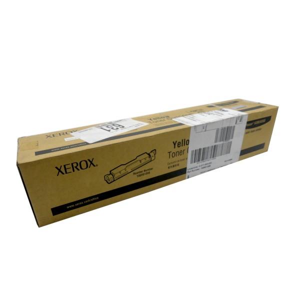 Original Xerox Toner 106R01088 gelb für Phaser 6300 6350 B-Ware