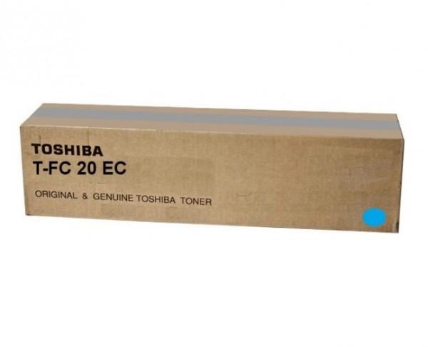 Original Toshiba Toner T-FC20EC cyan für E-Studio 2020 Neutrale Schachtel