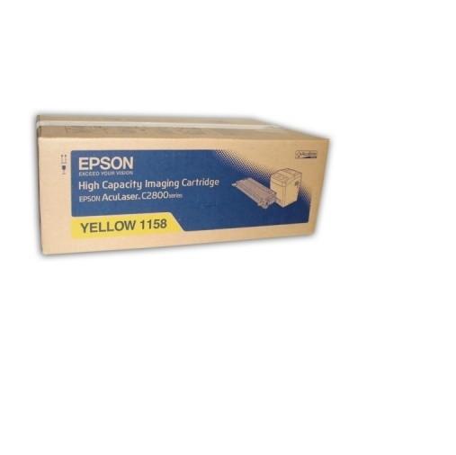 Original Epson Toner C13S051158 gelb für AcuLaser C 2800 Neutrale Schachtel