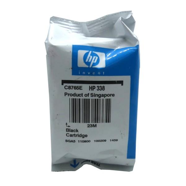 Original HP Tinte Patrone 338 schwarz für Deskjet 460 5740 6500 6600 6800 9800 Blister