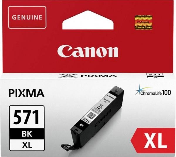Original Canon CLI-571XL Tinte Patrone schwarz MG 5750 6850 7750 TS5050 TS6050