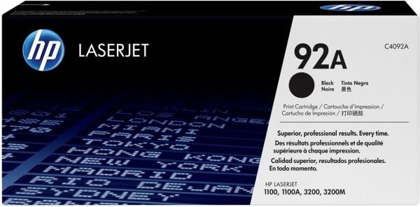 Original HP Toner 92A C4092A für LaserJet 1100 3200 3220 B-Ware