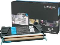 Original Lexmark Toner C5342CX cyan für Optra C 534 / C 534