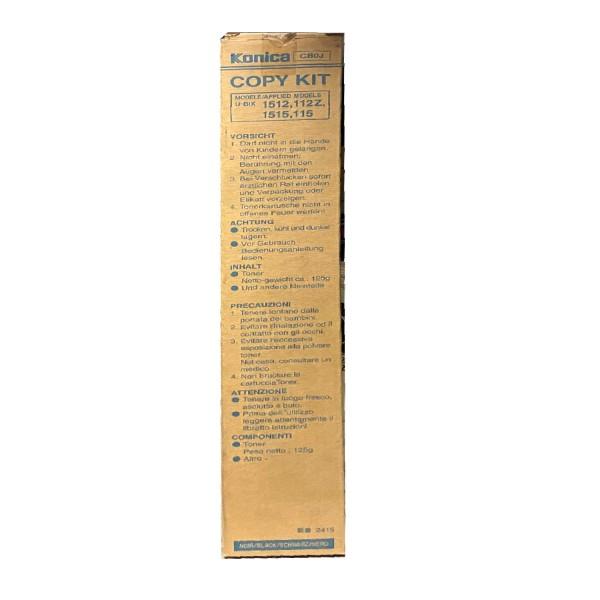 Original Konica Minolta Toner CB0J schwarz für 1512 9012 122