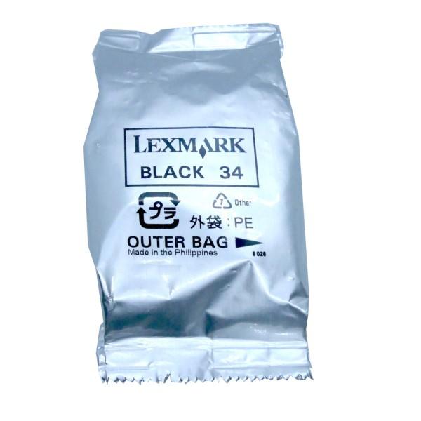 Lexmark 34 BK OEM Blister