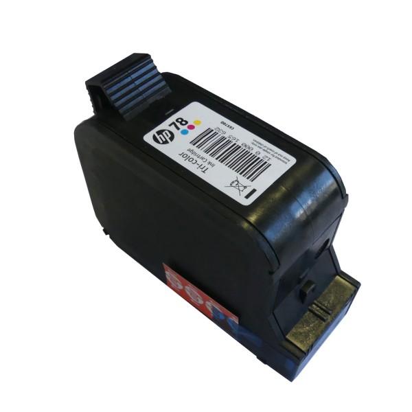 Original HP Tinte Patrone 78 C6578D Deskjet 1220 3810 3820 6122 6127 916 Blister