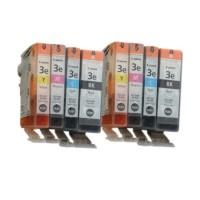 8x Original Canon BCI-3e Tinte Patronen iP3000 iP4000 iP5000 MP 750 760 780 Blister