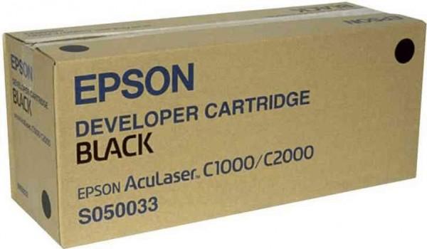 Original Epson Toner C13S050033 schwarz für AcuLaser C 1000 C 2000