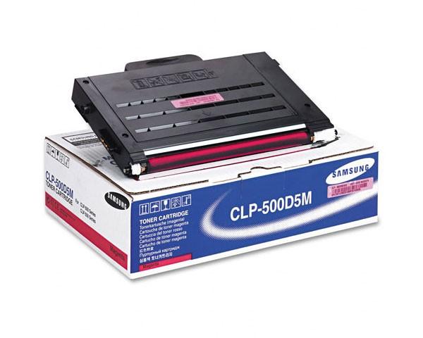 Original SAMSUNG Toner CLP-500D5M Magenta für CLP-500 550 510 B-Ware