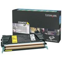 Original Lexmark Toner C5340YX gelb für C534n C534dn C534dtn Neutrale Schachtel