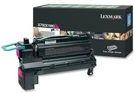 Original Lexmark Toner X792X1MG magenta für X 790 792 Series Neutrale Schachtel