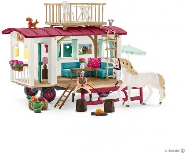 Schleich - geheimer Wohnwagen - Spielfigur 42415