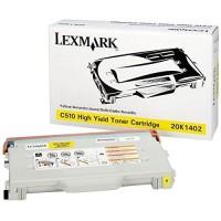 Original Lexmark Toner 20K1402 gelb für C 510 DTN N Neutrale Schachtel