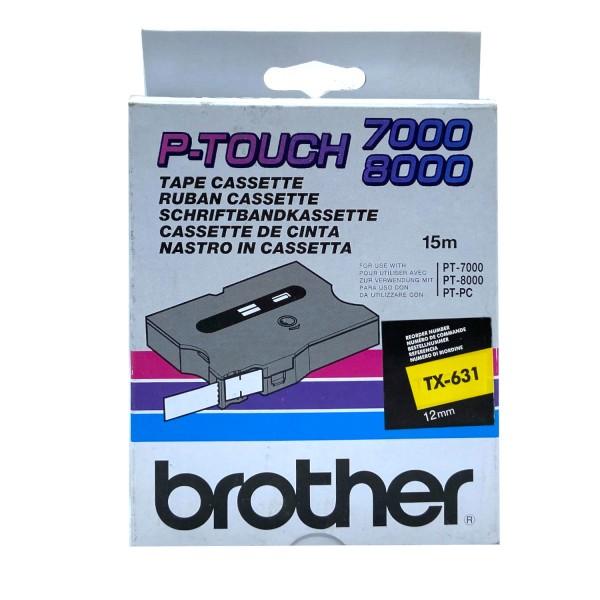35052_Original_Brother_Farbband_TX_631_für_PT_7000_8000_laminiert
