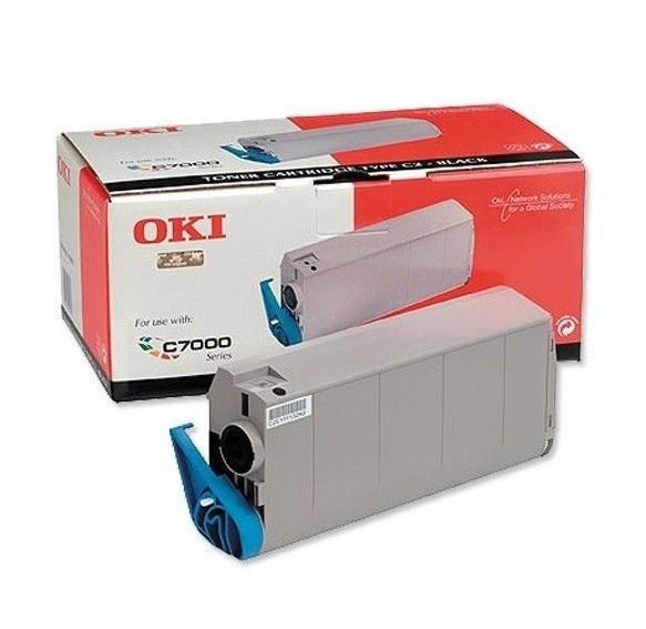 Original OKI Toner 41304212 schwarz für C7200 C7400