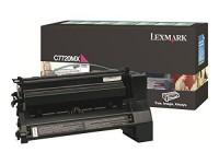 Original Lexmark Toner C7720MX magenta für C 772 X 772 Neutrale Schachtel