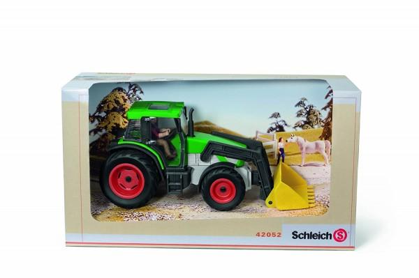 Schleich - Traktor mit Fahrer - Spieltraktor 42052 B-Ware