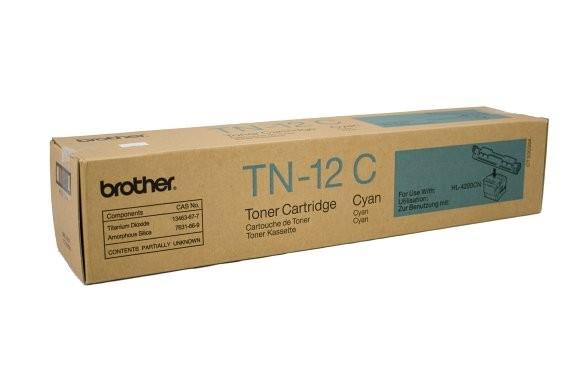 Original Brother Toner TN-12C cyan für HL 4200 CN
